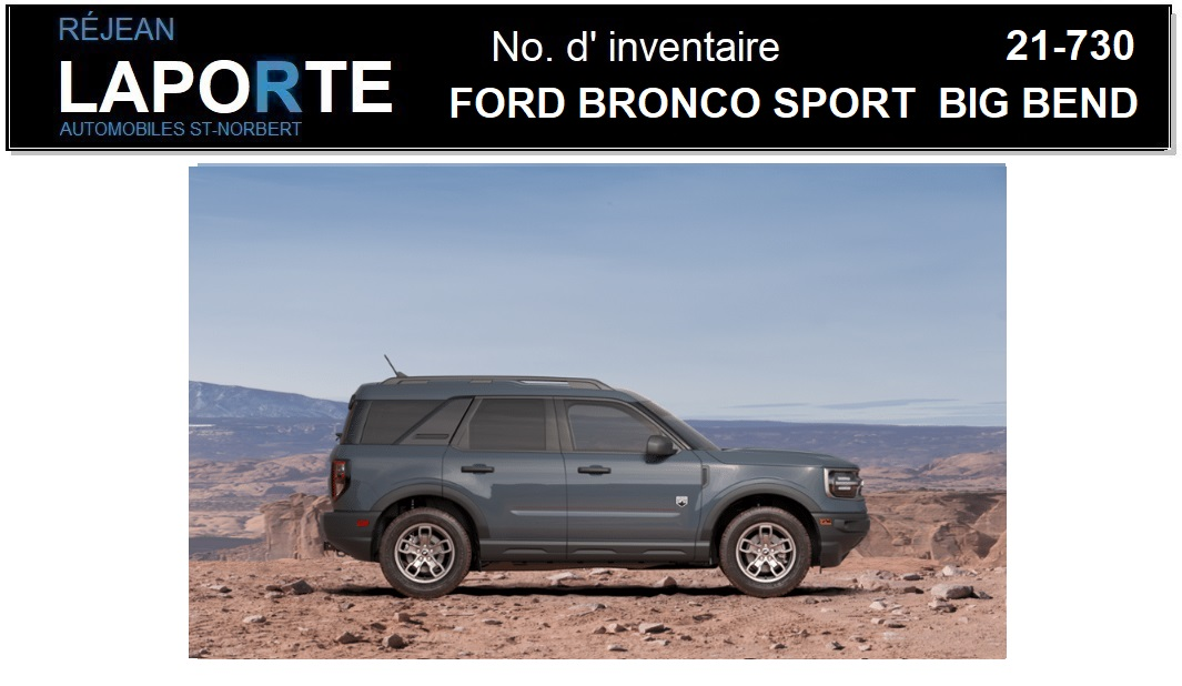 Ford Bronco Sport 2021 Trunk