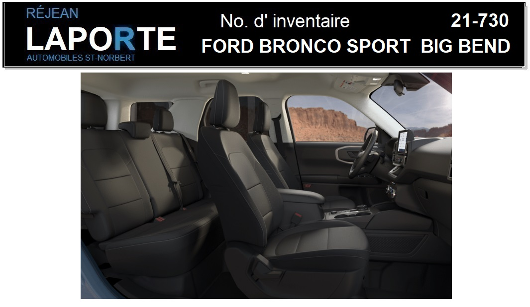 Ford Bronco Sport 2021 Open trunk