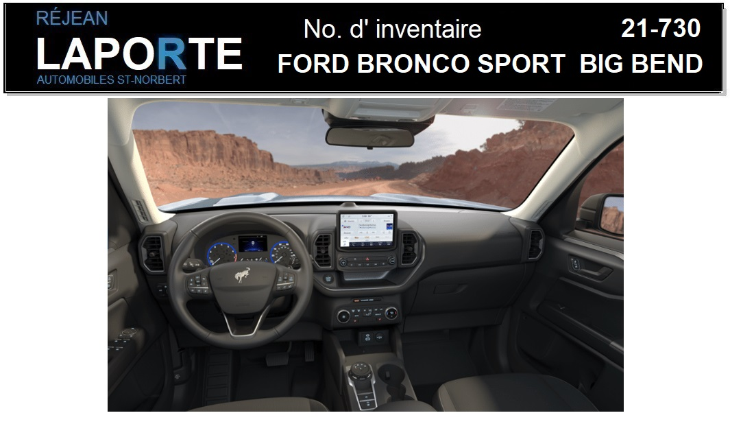 Ford Bronco Sport 2021 Trunk with folded seats